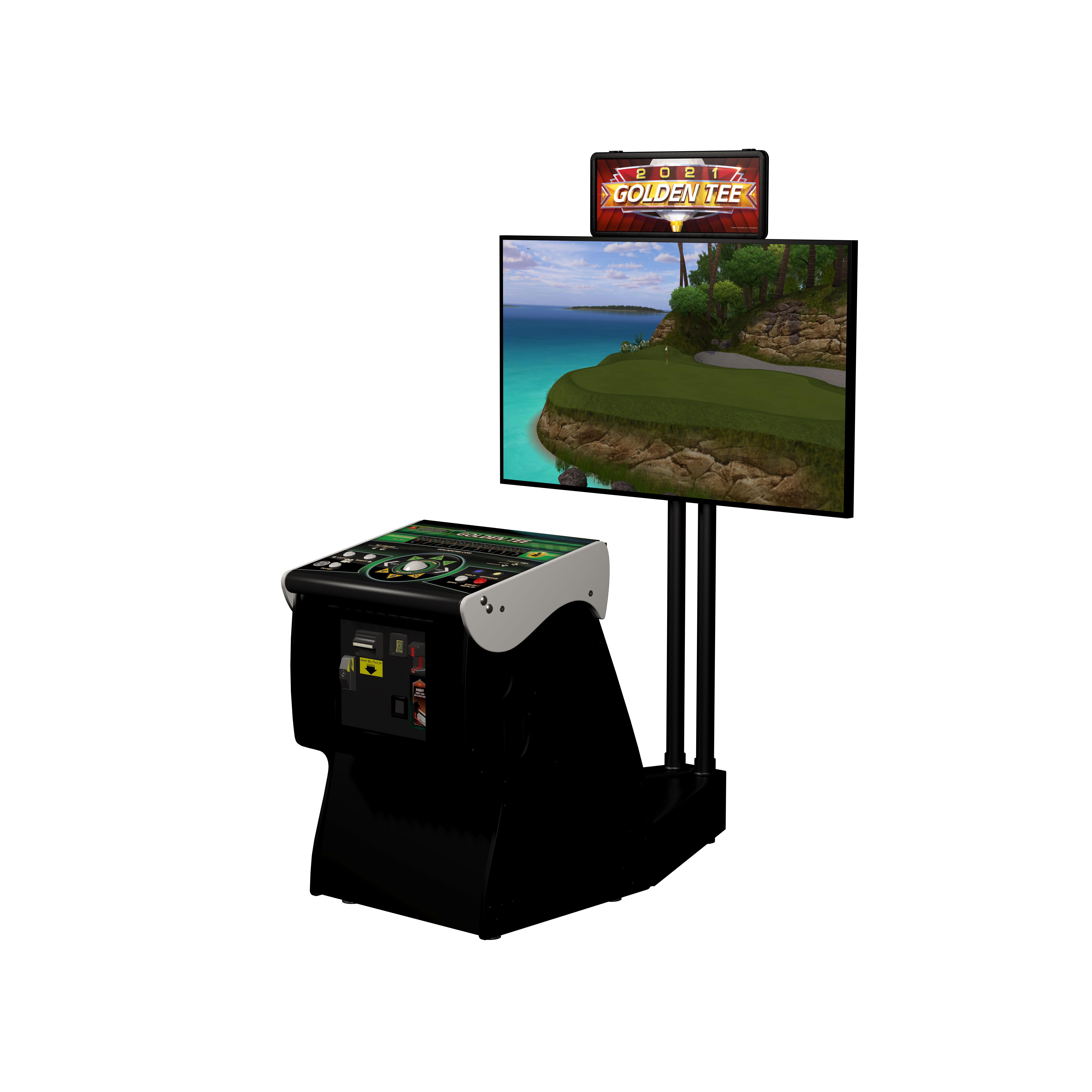 Golden Tee Cabinet Incredible Technologies Inc Games Golden Tee Live Downloads